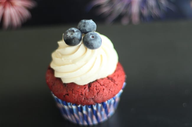 Fourth of July, Holiday, Cupcake