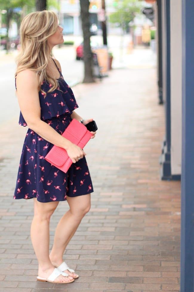 Flamingo, Date Night, Fashion, Summer
