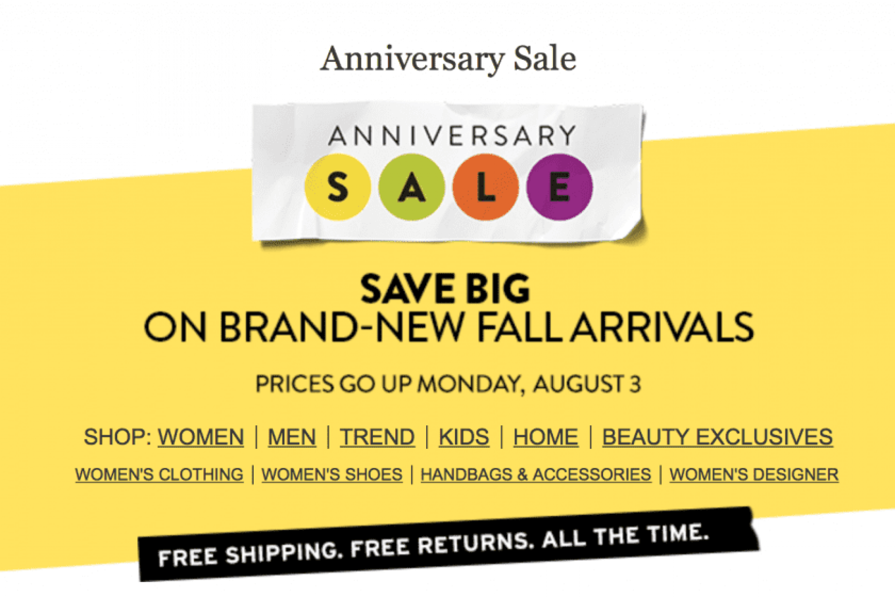 Nordstrom Anniversary Sale + Gift Card Giveaway!