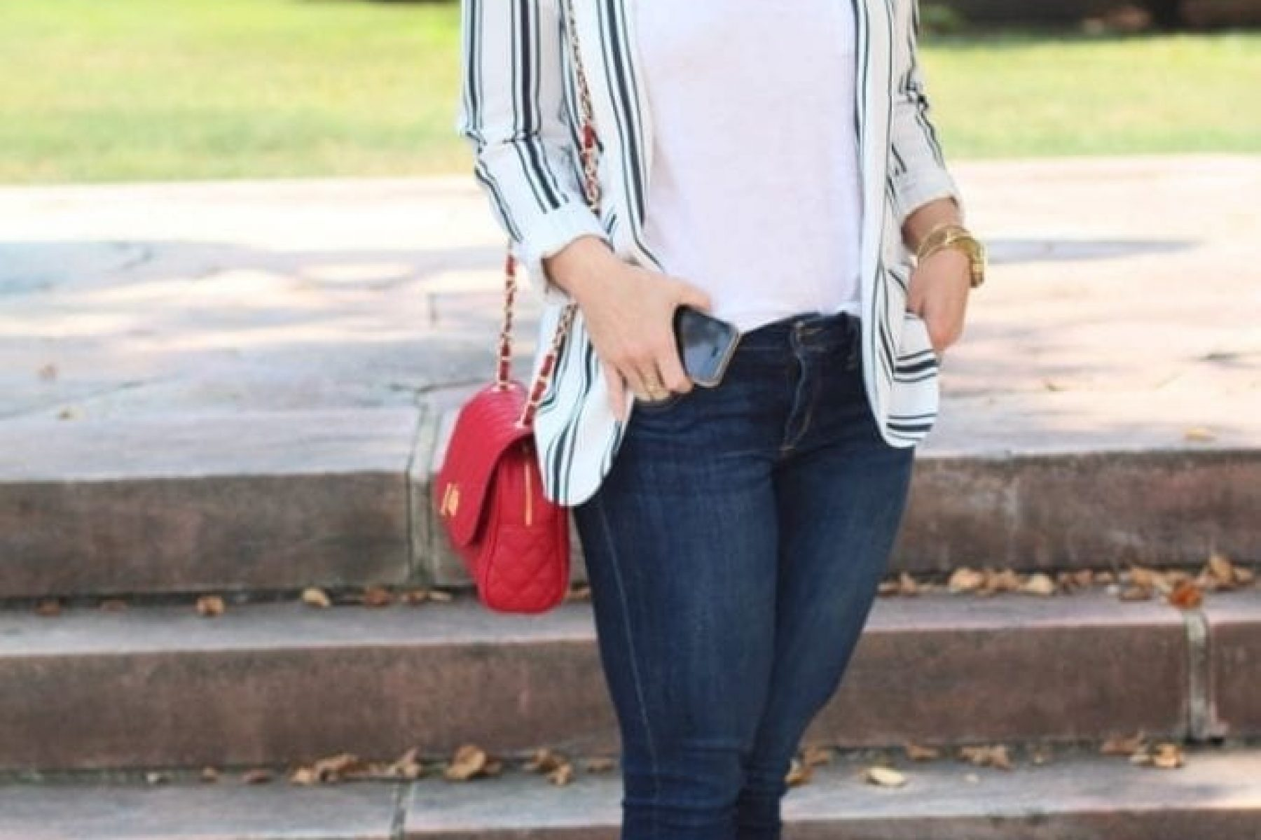 Back to Campus with my Favorite Denim…