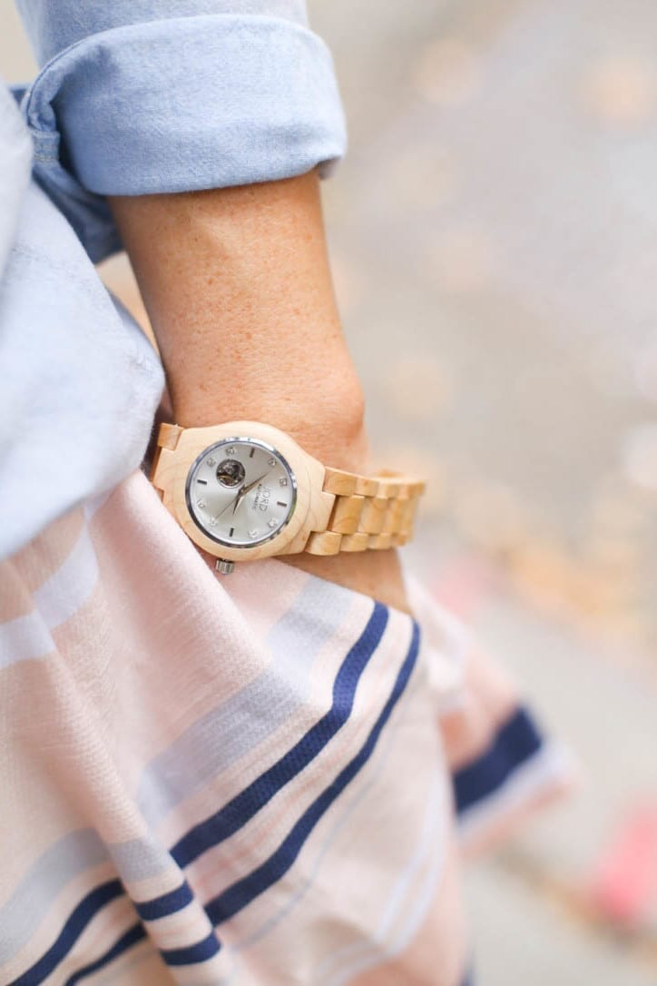 Afternoon Espresso - Jord Watches - Wooden Watch - NYC - NYFW - Carried Bradshaw-8