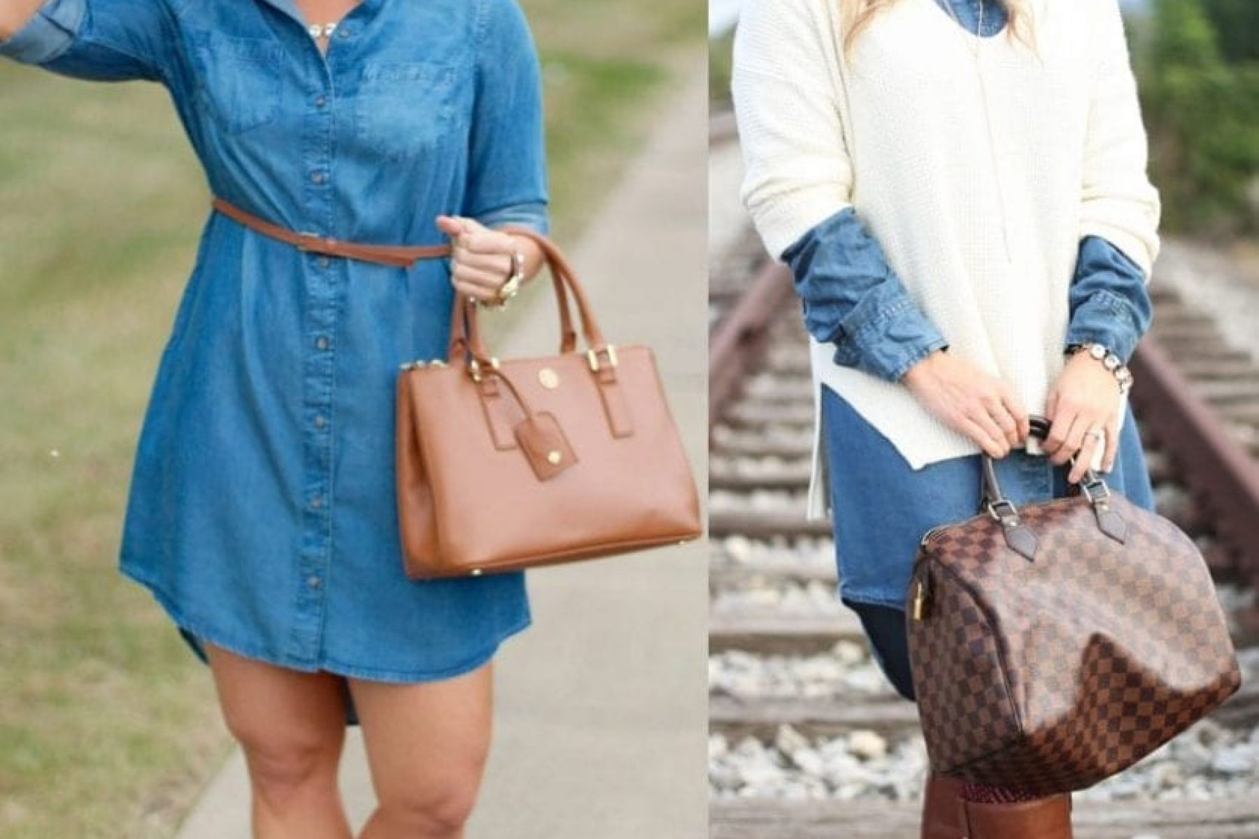 Fall Transition: The Iconic Chambray…