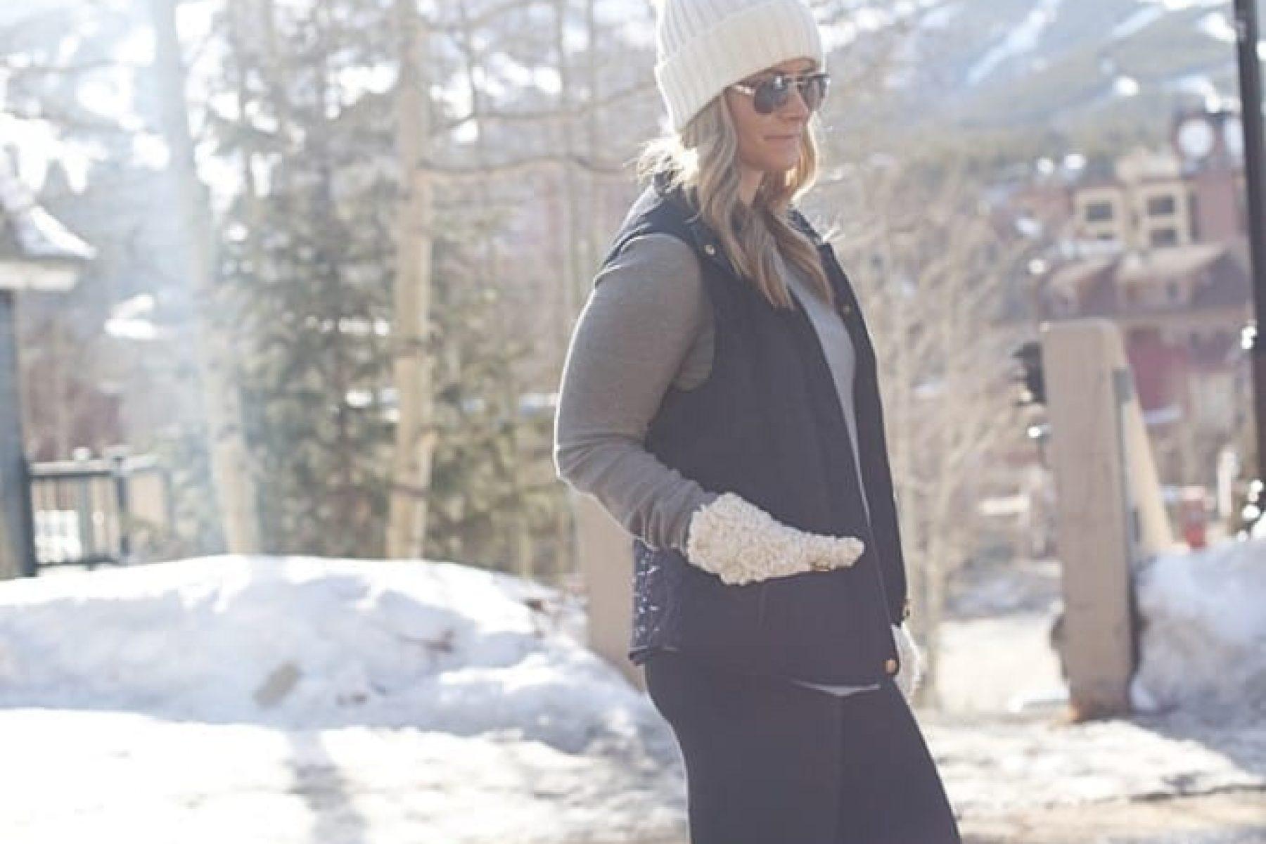 Blogger, Breckenridge, Travel, Vacation, Colorado, Ray Ban Sunglasses, Vest, Sorel Boots (2 of 6)