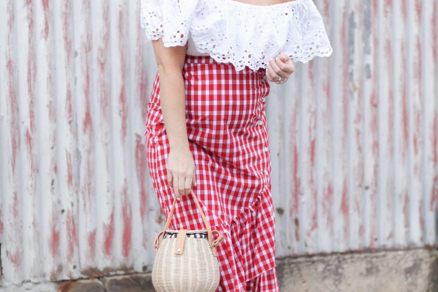 Fourth of July- Gingham- Zara-Summer Style-5-Summer Fashion