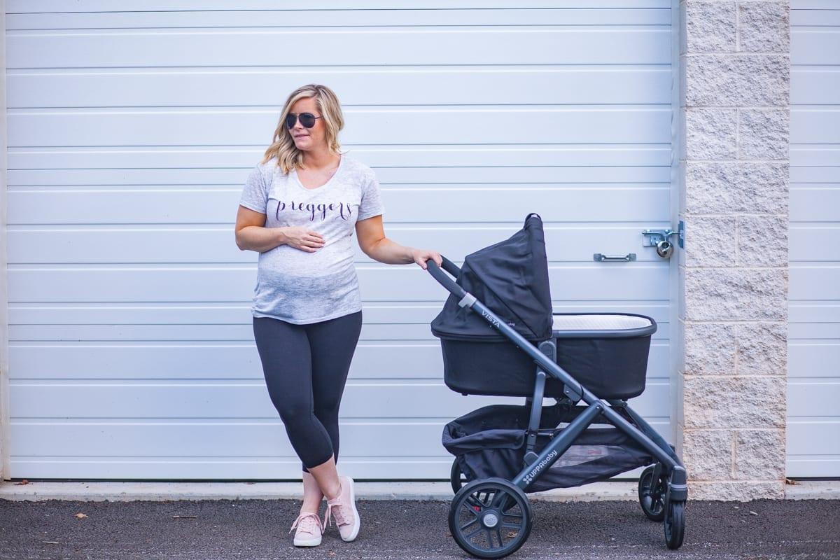 Newborn Essentials- ILY Couture Tee - Uppa Baby Vista