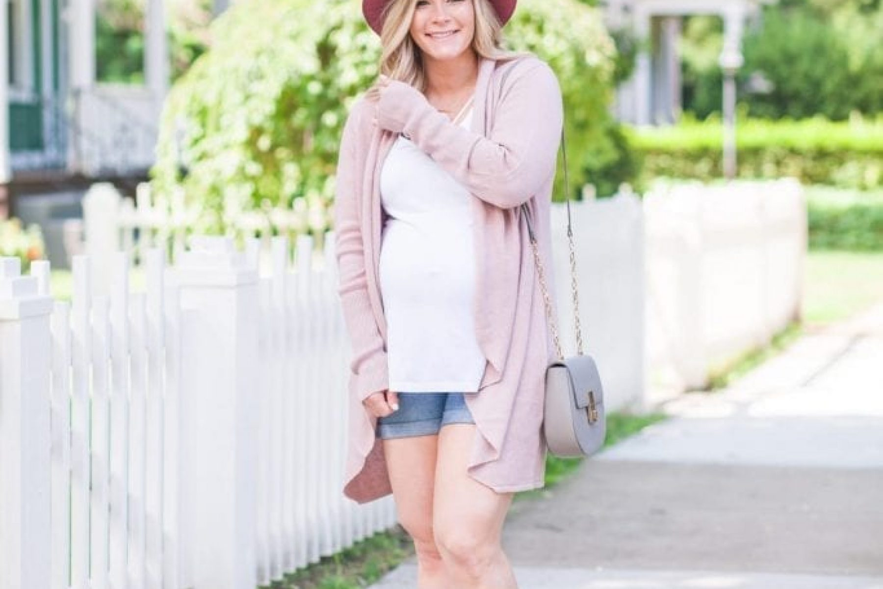 Pink Cardigan and Booties for Fall - Nordstrom Anniversary Sale (1 of 10)