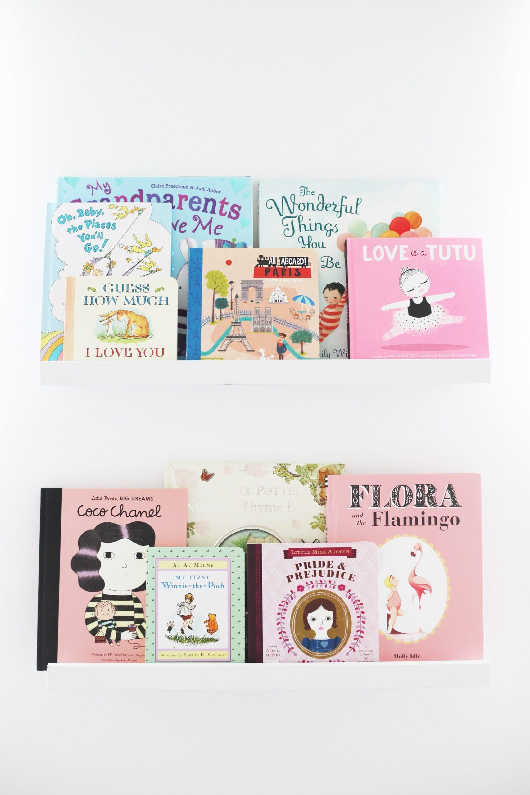 Nursery Wall Bookshelves - Nursery Decoration