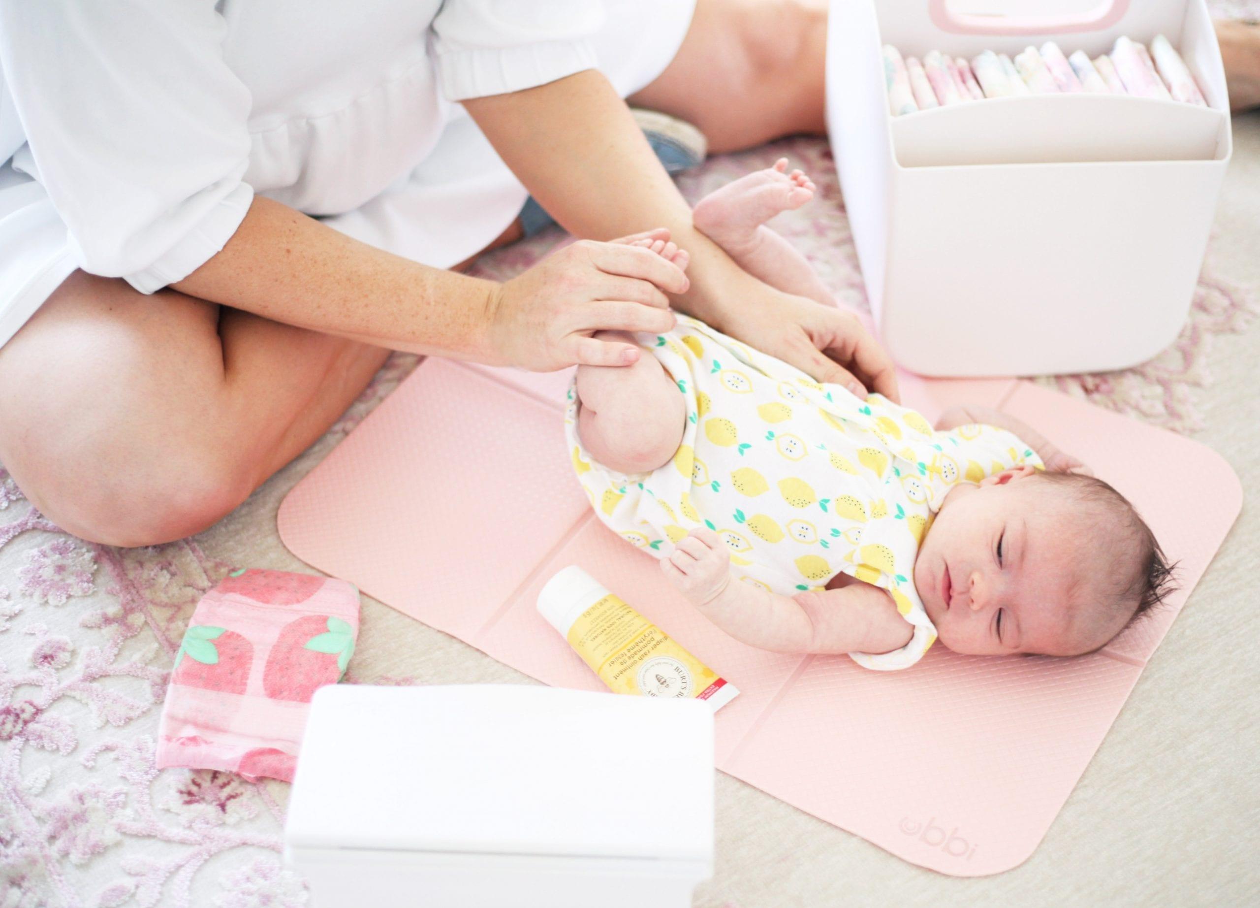 Newborn Essentials- Ubbi Diaper Caddy