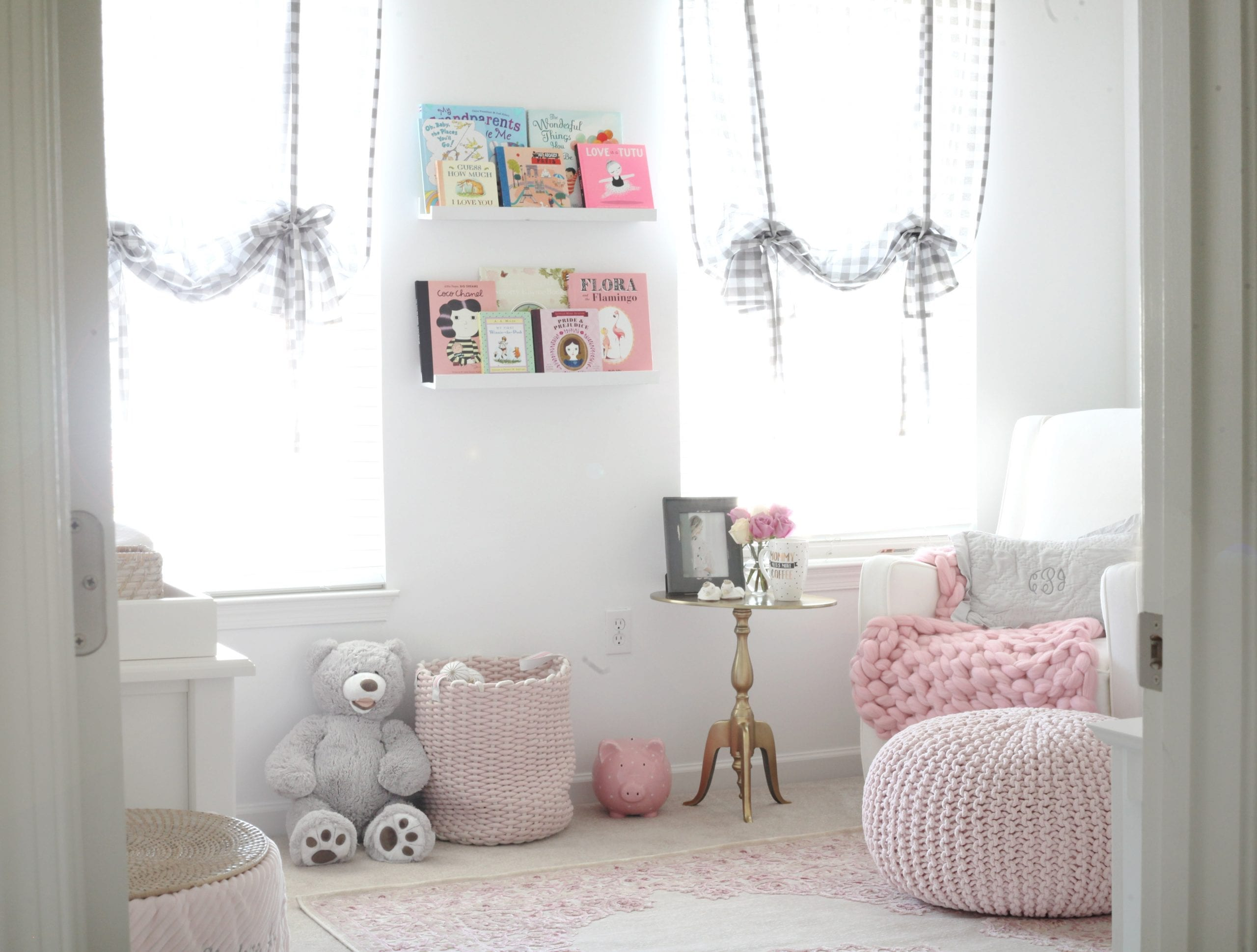 Nursery Decoration- Baby Girl Nursery