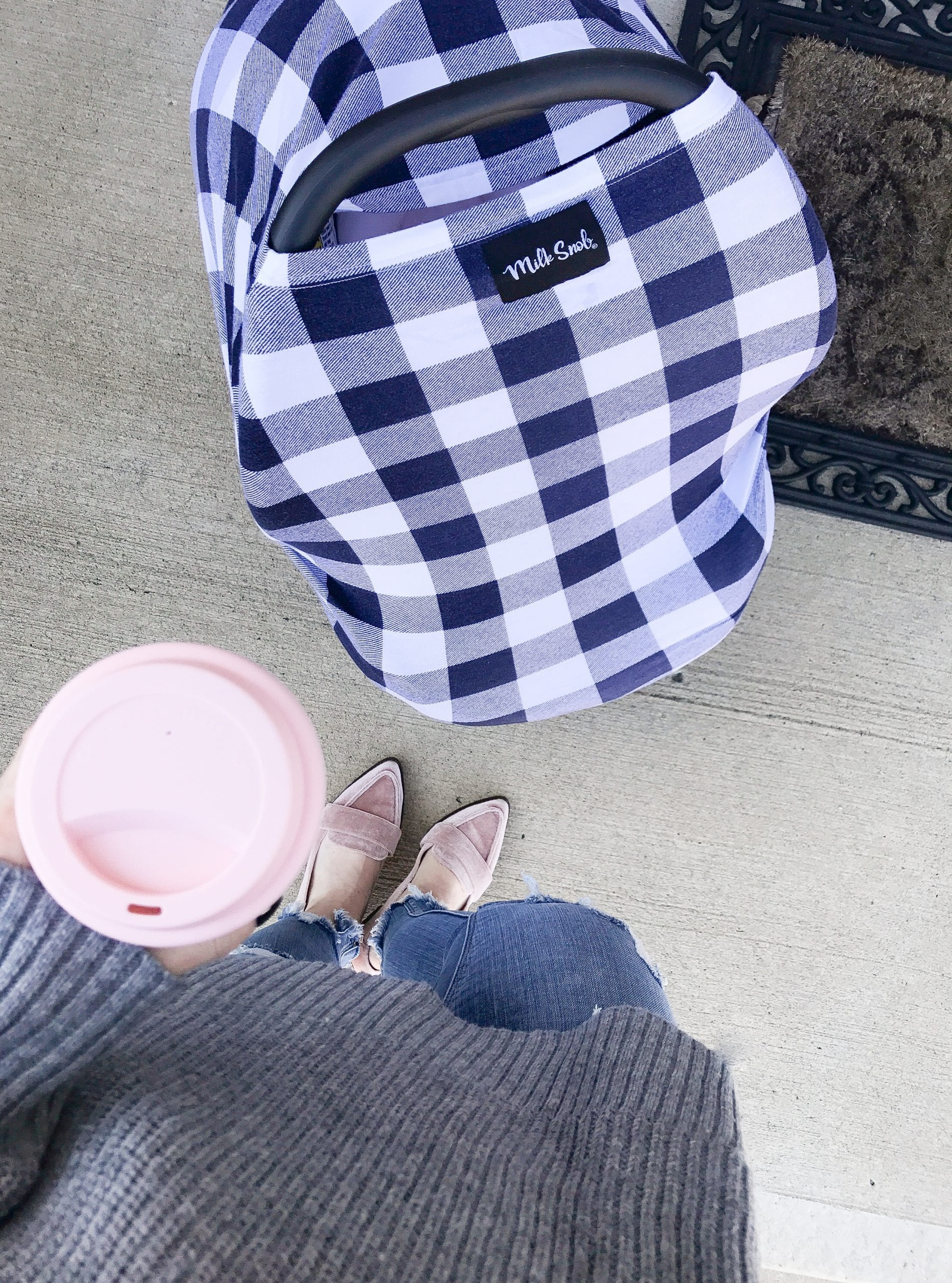 Newborn Essentials- Milk Snob Cover