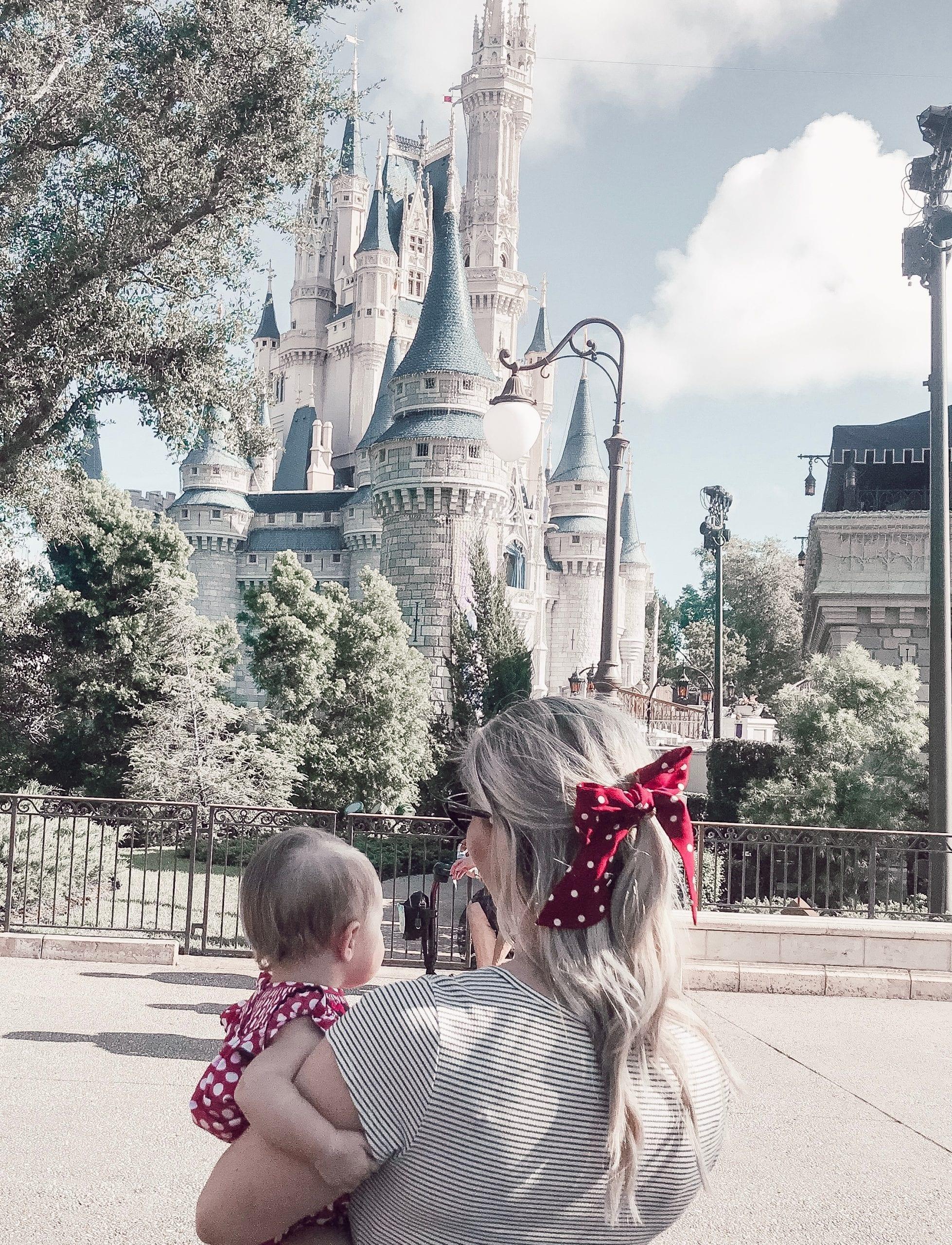 mom and me at the Magic Kingdom Walt Disney World