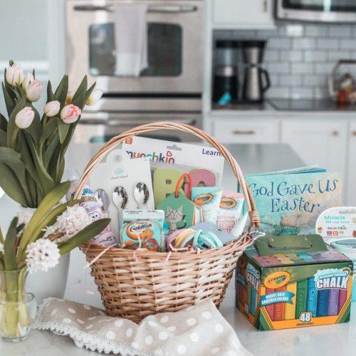 Easter Basket Ideas - No Candy Easter Basket (80 of 1)