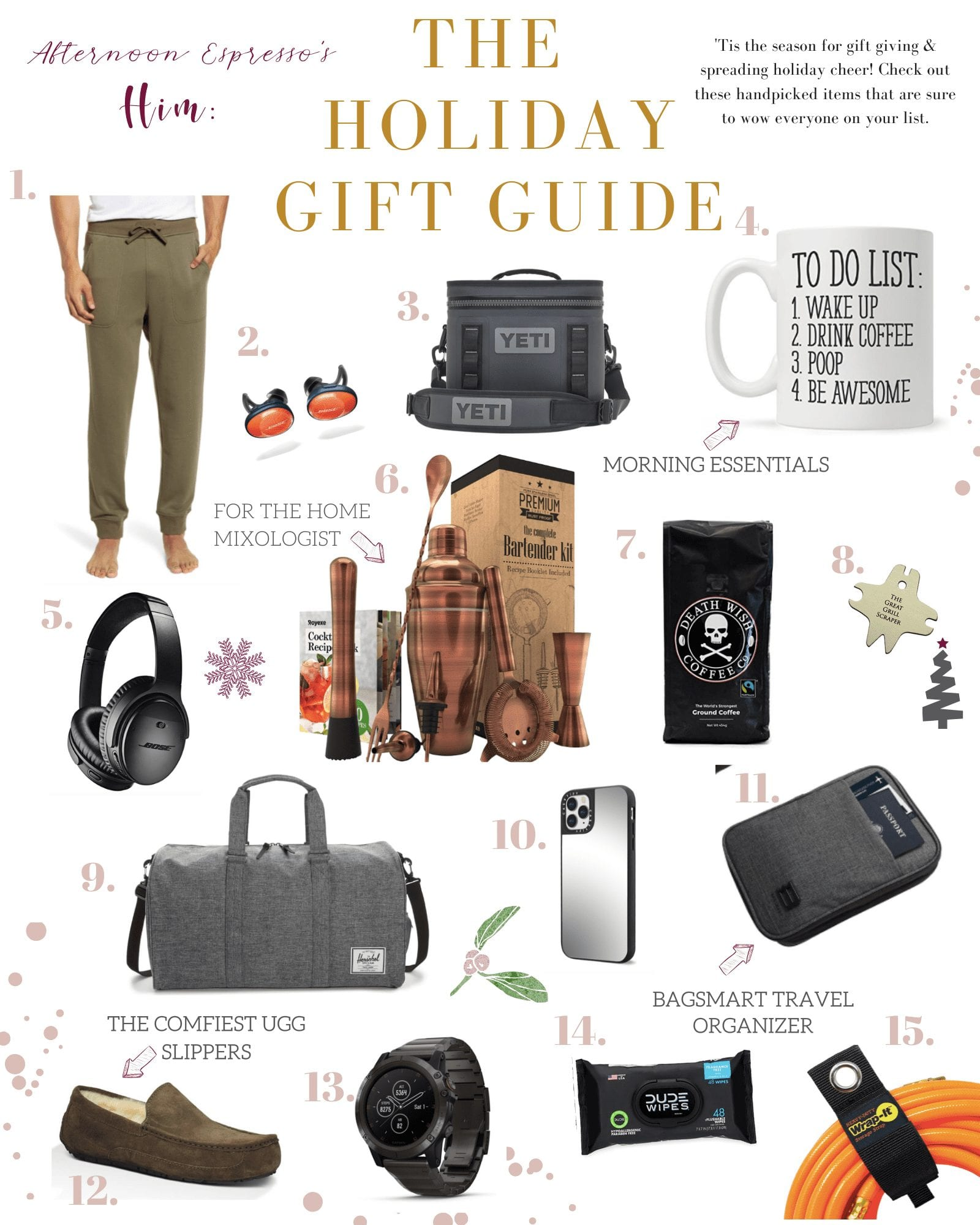 Holiday Gift Guide for Him - 2019 Gifting