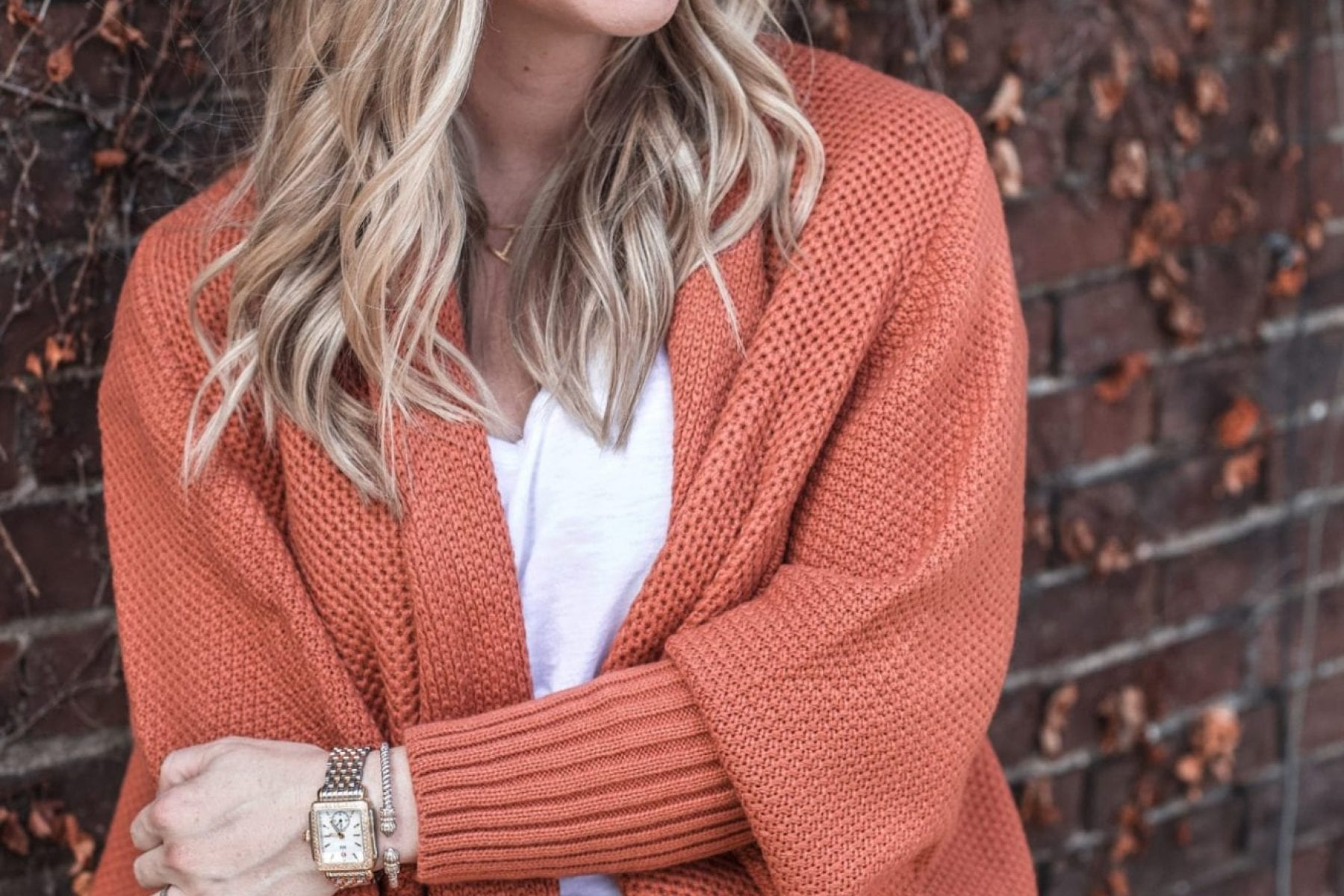 Afternoon Espresso - Thanksgiving Outfit Idea- Cozy Cardigan-2