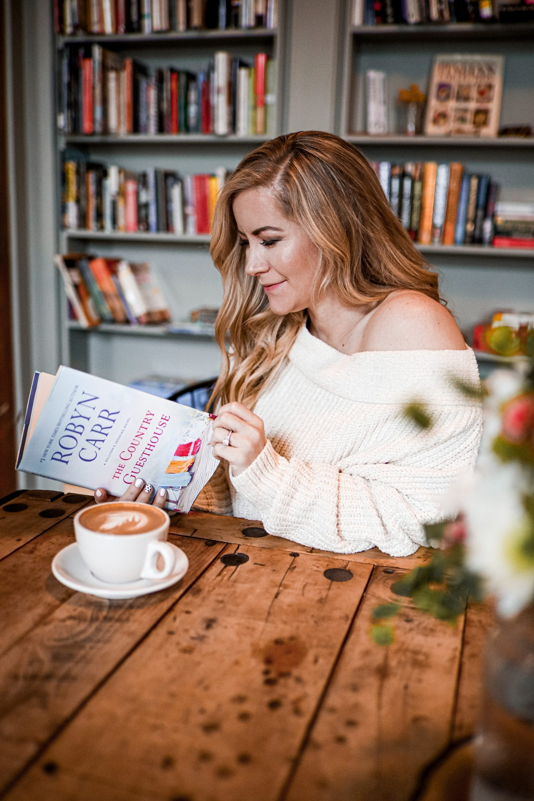 Winter Read- Winter Reading List- The Country Guesthouse - Romance - Women's Books-Pittsburgh Coffee Shop
