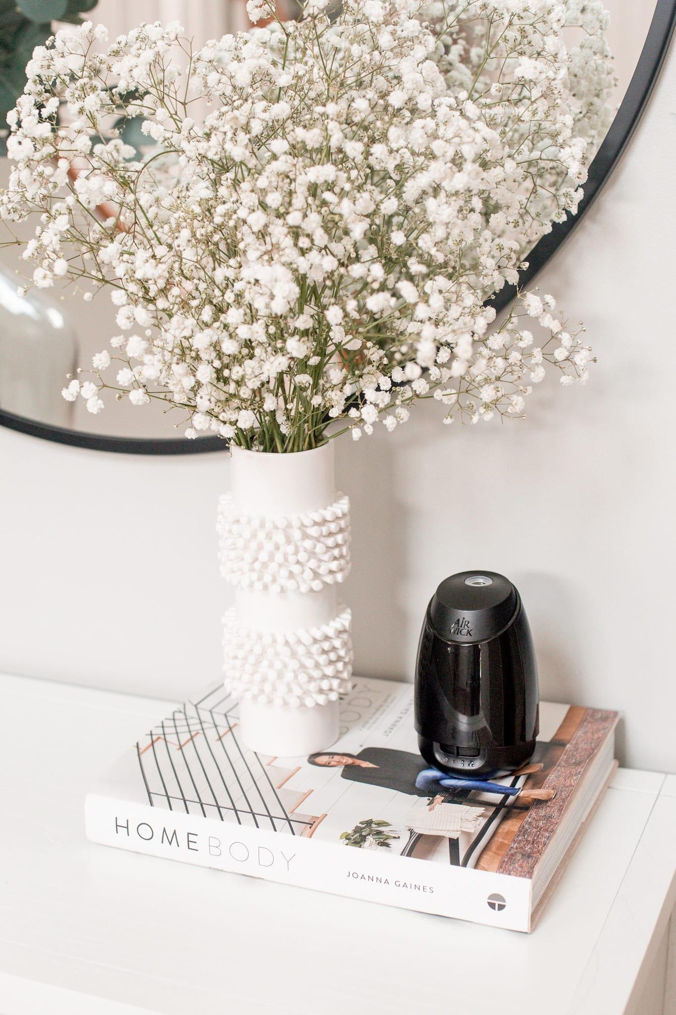 Mother's Day Gift Ideas- Airwick Essential Mist Diffuser- Home Decor-Babbleboxx- Ashley Pletcher - Afternoon Espresso
