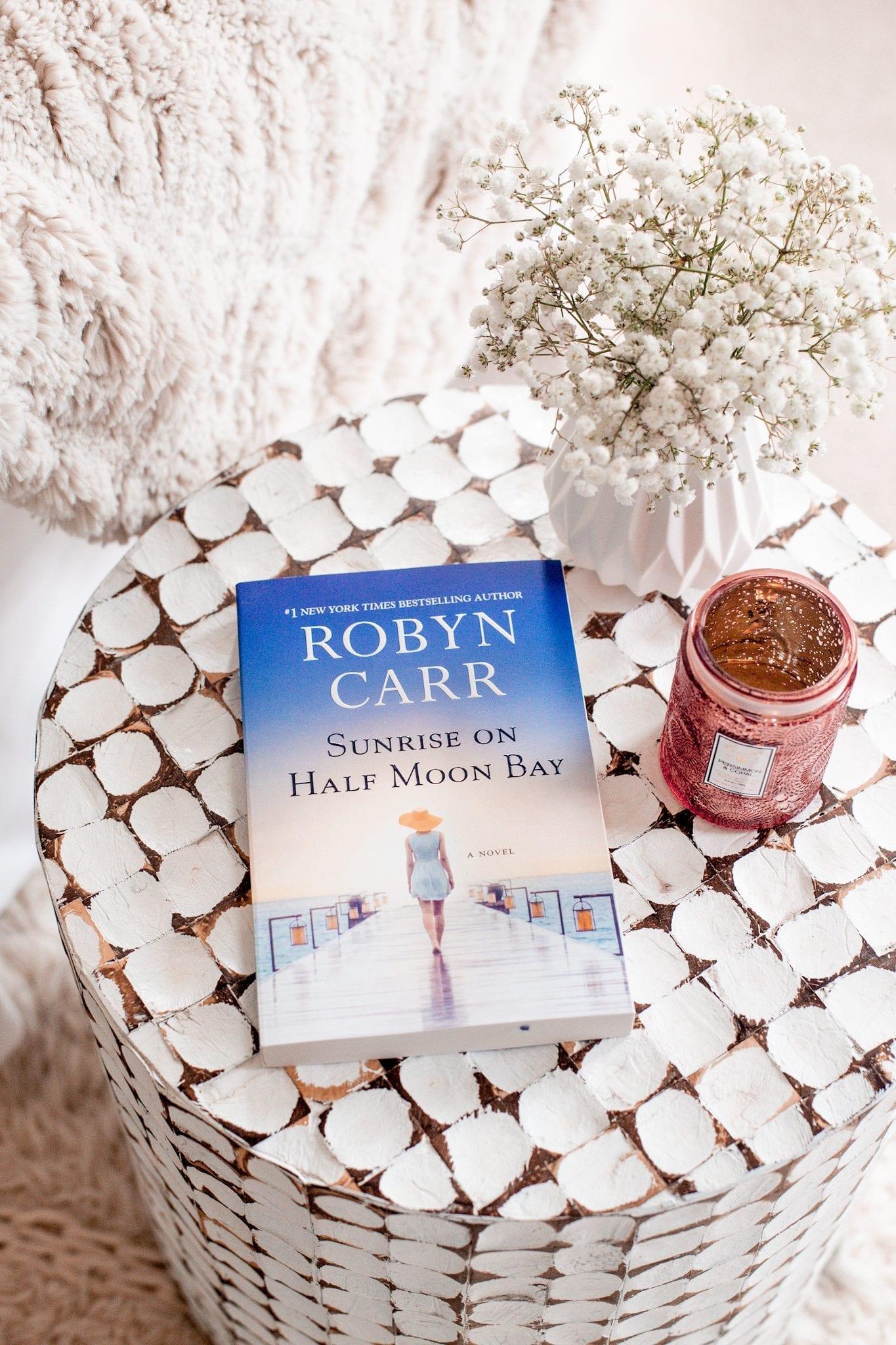 Mother's Day Gift Ideas-Robyn Carr- Sunrise On Half Moon Bay- Babbleboxx- Ashley Pletcher - Afternoon Espresso