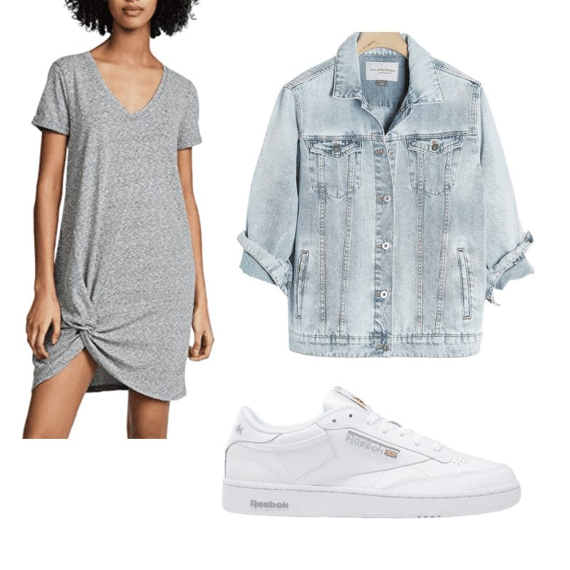 knot tie dress- Summer look- Afternoon espresso summer staples- covid summer- casual summer look