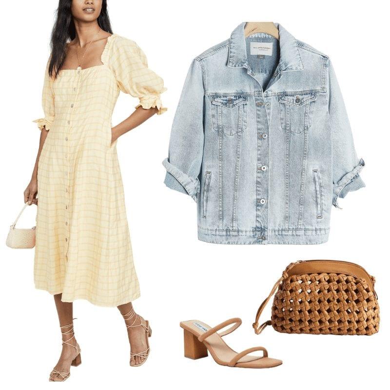 Summer look- Afternoon espresso summer staples- covid summer- Midi Dress- Shopbop