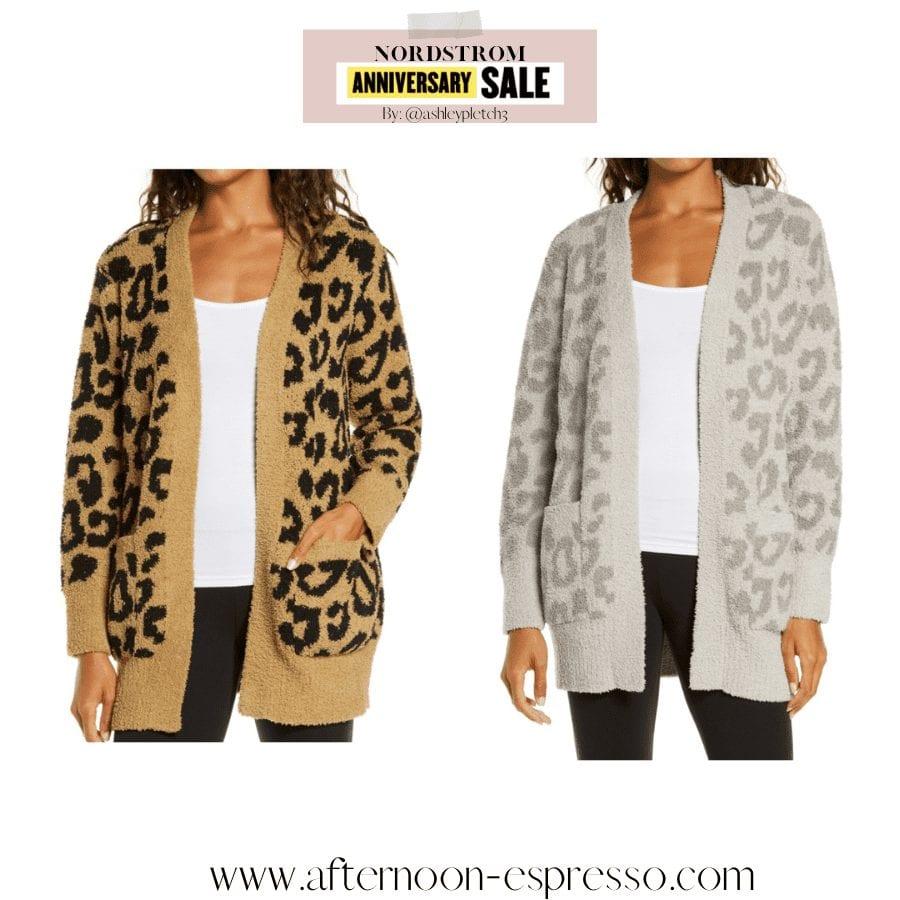 Anniversary Sale- Closet Staple Items- Fall Sale- Ashley Pletcher- Barefoot Dreams Cargian