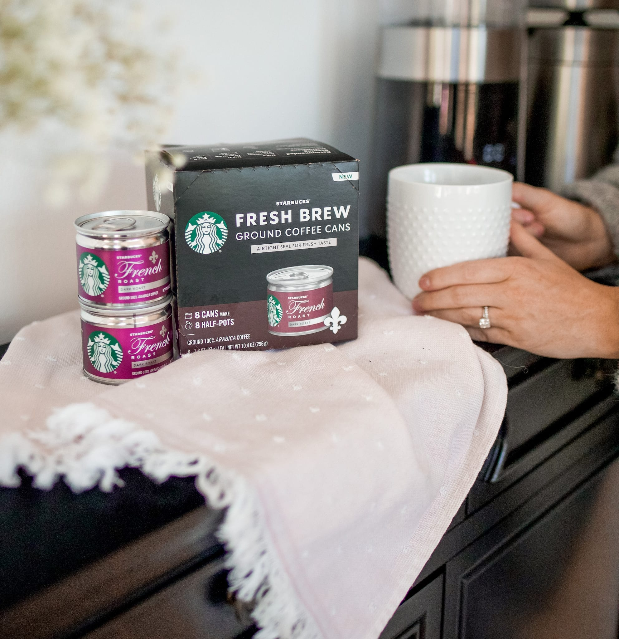 self care for busy mom- Starbucks® Fresh Brew Cans- Giant Eagle