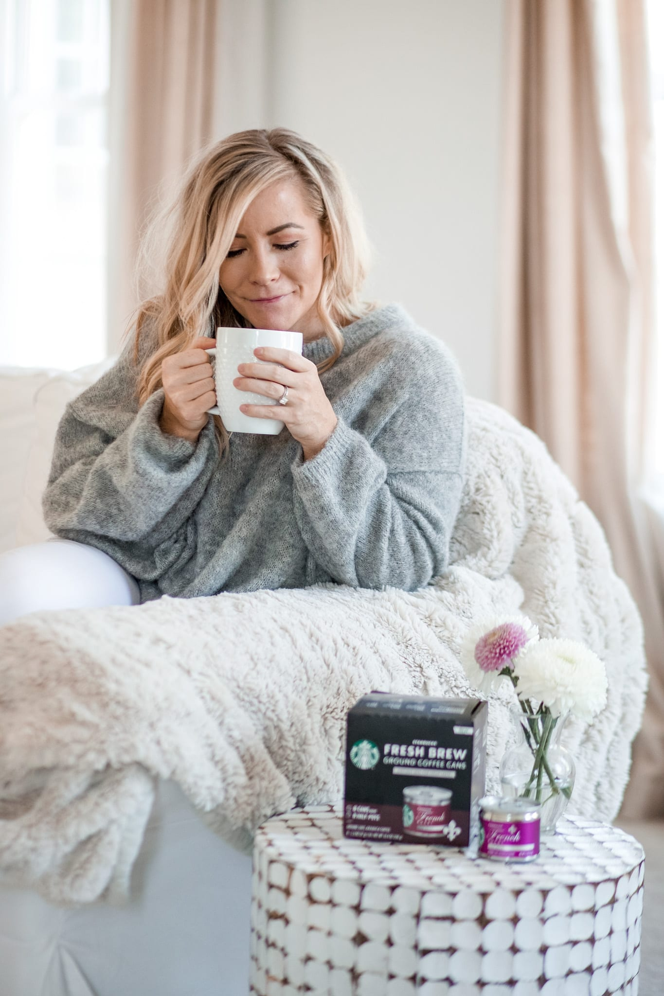 self care for busy mom- Starbucks® Fresh Brew Cans- Me Time for Mom