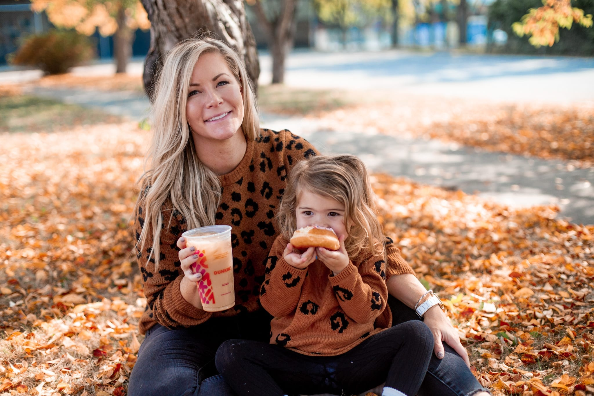 National Dunkin' Day - National Coffee Day- Afternoon Espresso- Coffee Lover- Mother Daughter Dates - Pittsburgh- Dunkin Coffee