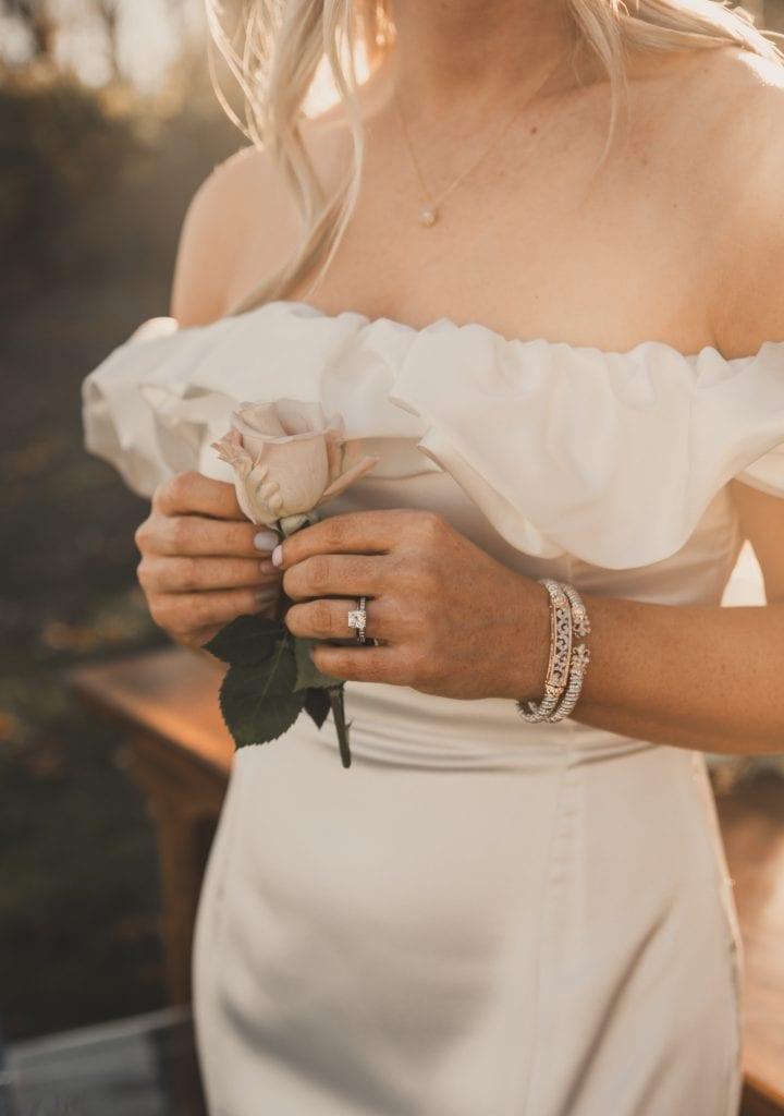 Pittdsburgh wedding- joyce's fine jewelry- pittsburgh jewelry - backyard wedding- covid wedding-Burgh Brides