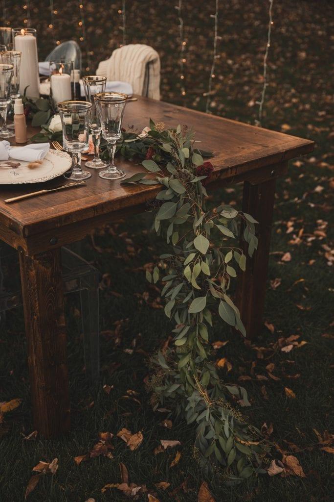 Garland Floral Design- Pittsburgh Florist- Pittsburgh Wedding- Covid Wedding - Burgh Brides- Pittsburgh - Backyard wedding idea