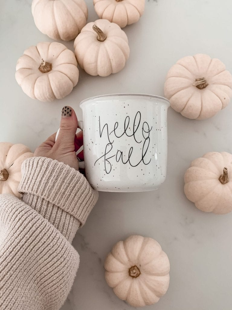 Sweet Water Decor- Hello Fall- Campfire Mug- Pittsburgh- Small Business