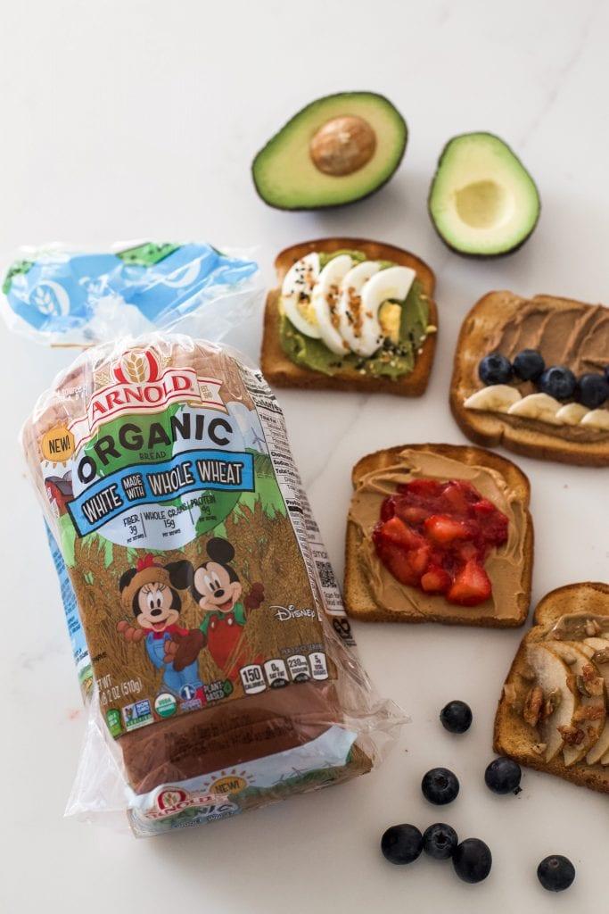 4 nutritious toast recipes - Arnold Bread