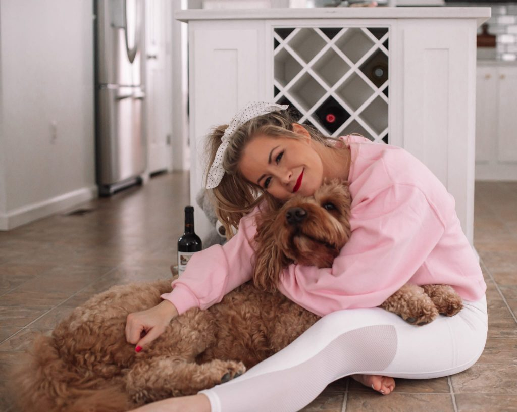 14 out of the box valentine's day gift ideas- Ashley Pletcher - Afternoon Espresso- Goldendoodle - Puppy