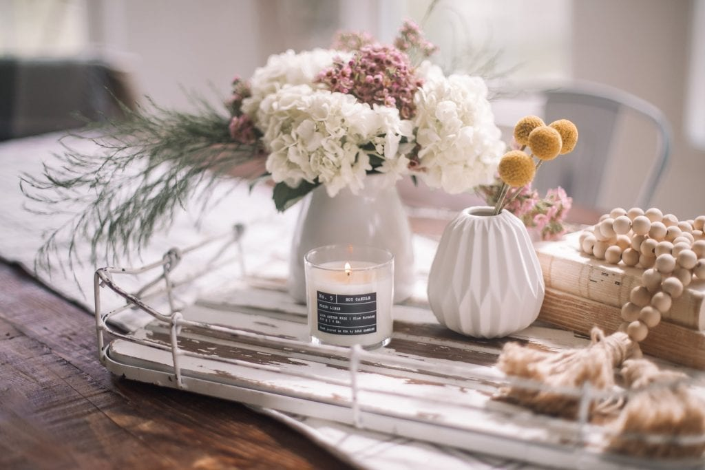 Spring Home refresh- Spring Refresh- Ashley Pletcher Home- Soy Candle- Lulu Candle