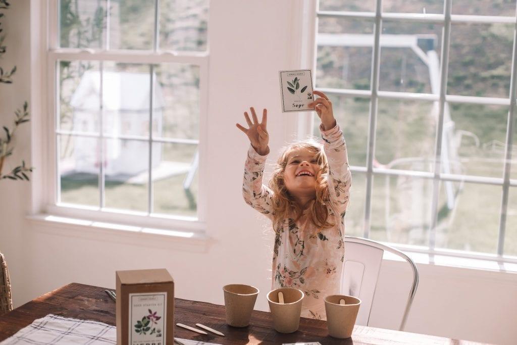 Spring Home refresh- Spring Refresh- Ashley Pletcher Home- Gardening with Kids