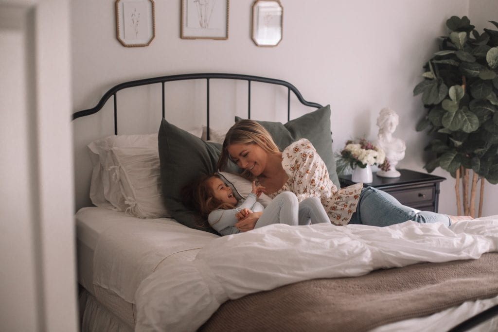 Spring Home refresh- Spring Refresh- Ashley Pletcher Home- Pillow Inserts- Mother Daughter