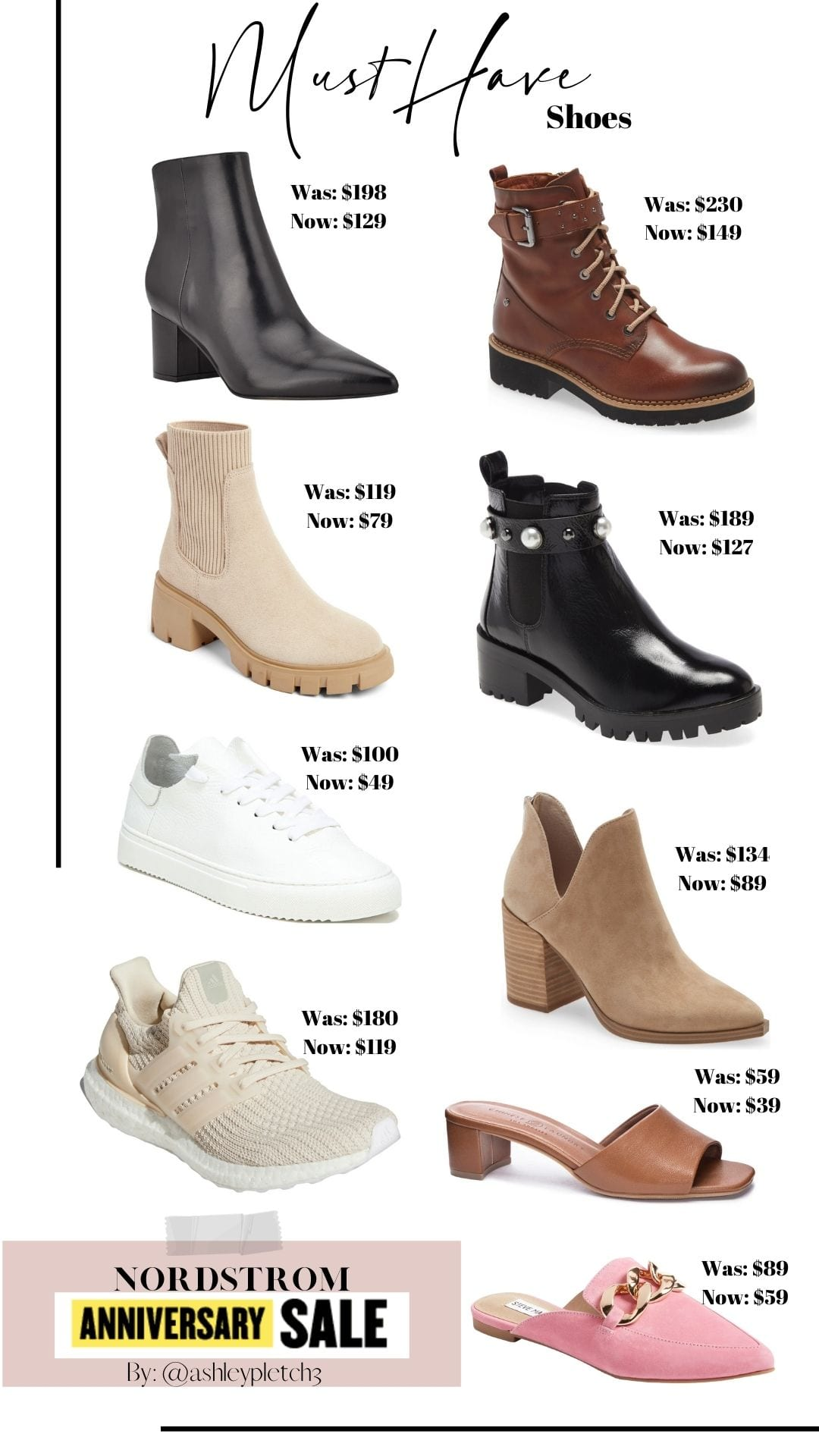2021 Top 10 Nordstrom Anniversary Sale Items- Must have Fall Booties on Sale