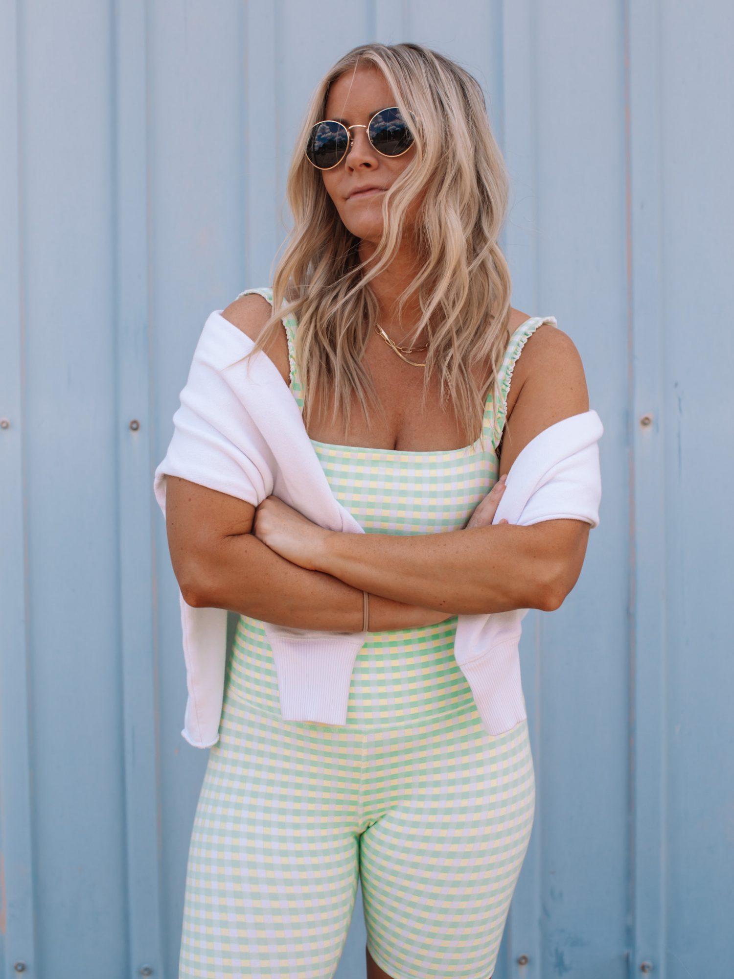 10 Ways to style bike shorts- Ashley Pletcher- Sincerely Jules- Bandier