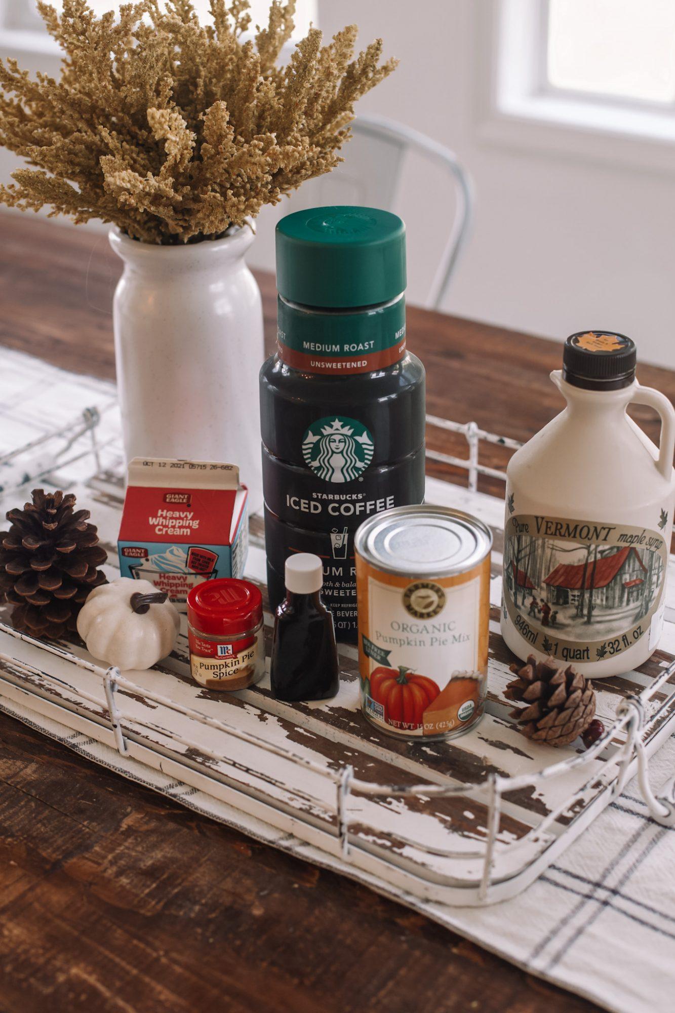 Pumpkin Cream Cold Brew Recipe- PSL- Ashley Pletcher- Coffee Recipe