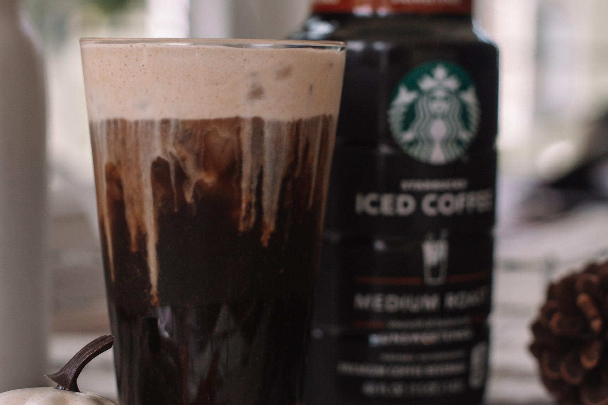 Pumpkin Cream Cold Brew Recipe- PSL- Ashley Pletcher- Cold Foam Coffee